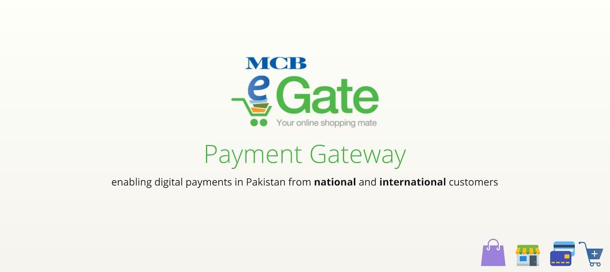 eGate MCB Payment Gateway Pakistan