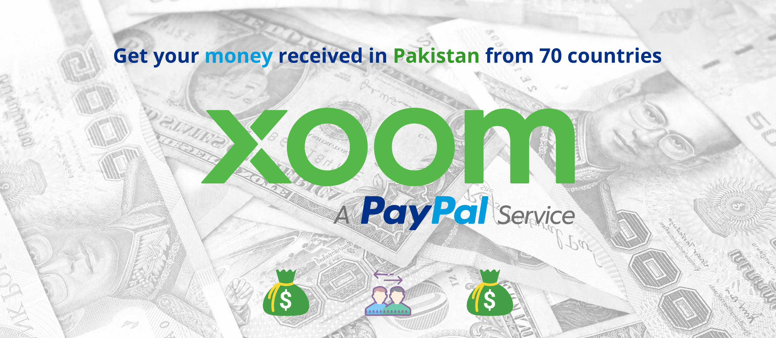 Xoom - Send & Receive money in Pakistan from across the world
